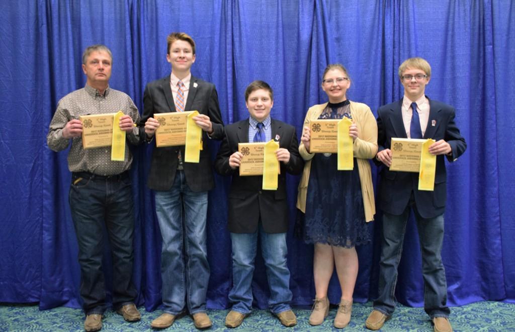 Huron Plainsman Miner County 4 H Members Represent South